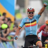 Van Avermaet pedals to road race glory