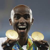 Farah denies friendship with drug-tainted Somali coach