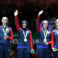 U.S. women claim fencing bronze