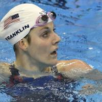 Franklin keeps head held high during difficult Olympic experience