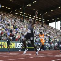 Gatlin defends place in Rio Olympics