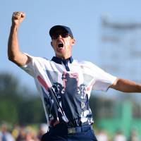 Rose wins first golf gold since 1904