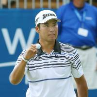Matsuyama ties for third at Wyndham Championship
