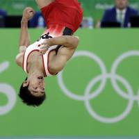 Favorite Shirai misses medal in Olympic floor exercise final