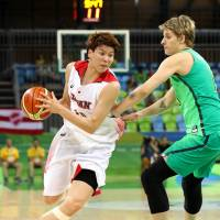 Japan women down Brazil for second win