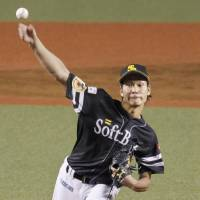 Hawks' Takeda collects 11th victory of season