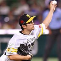 Hawks' Wada improves to 12-3 with stellar outing against Fighters
