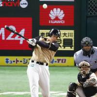 Fighters' Otani continues hitting tear, crushes two homers in rout of Hawks