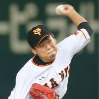 Giants youngster Taguchi delivers stellar effort on mound,  for third consecutive victory