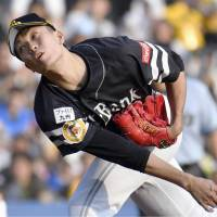 Hawks' Senga, two relievers toss one-hitter against Marines