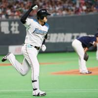 Fighters star Otani delivers game-winning blast in seventh inning