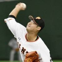 Giants starter Otake befuddles Tigers during eight stellar innings on mound