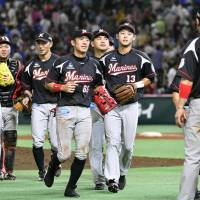 Marines beat Hawks to end five-game skid