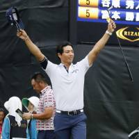 Ishikawa wins on domestic tour