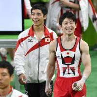 Uchimura, teammates acclimate themselves to Rio Olympic Arena
