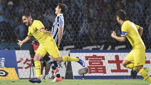 Oliveira's rapid-fire hat trick powers Reysol past Frontale