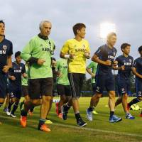 Japan replaces injured Nagatomo, Makino for qualifiers