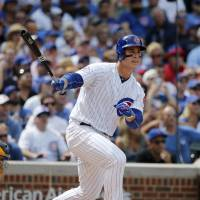 Bryant homers twice as Cubs win
