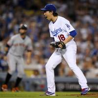 Dodgers defeat rival Giants