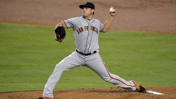 Moore comes up one out short in bid for no-hitter