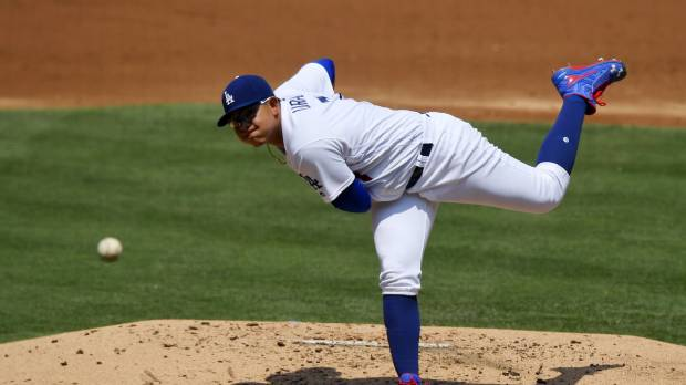 Urias puts growth on display against Cubs