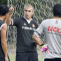 Grampus coach Ogura takes leave of absence; Djurovski, to take over