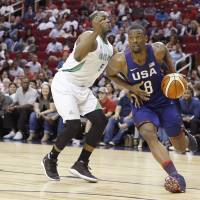Team USA routs Nigeria in final Olympic tuneup