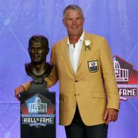 Legend Favre 'blessed' by Hall of Fame induction