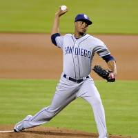Padres send Marlins into tailspin