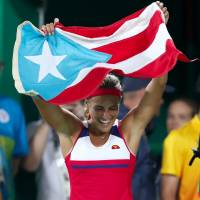 Puig wins singles title to capture Puerto Rico's first-ever Olympic gold