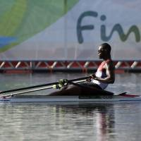 Lofty ambition: Cuban rower wants to be No. 1