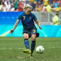 Sweden ousts U.S. in quarters
