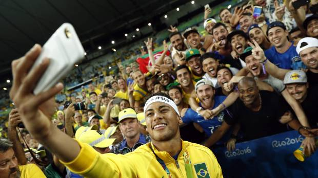 Neymar finds redemption with gold medal