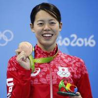 World champ Hoshi settles for bronze in 200 butterfly