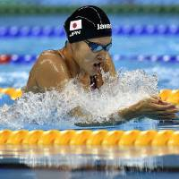 Kaneto victorious in 200-meter breaststroke; Phelps beats Hagino for 22nd gold