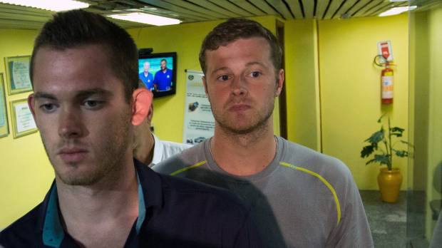 U.S. swimmers to meet with authorities about robbery