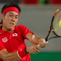 Nishikori advances to third round in Rio