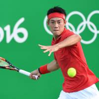 Nishikori outlasts Monfils to reach Olympic semifinal showdown with Murray