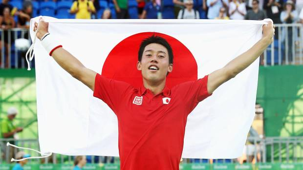 Nishikori beats Nadal for bronze, bags Japan's first Olympics tennis medal since 1920