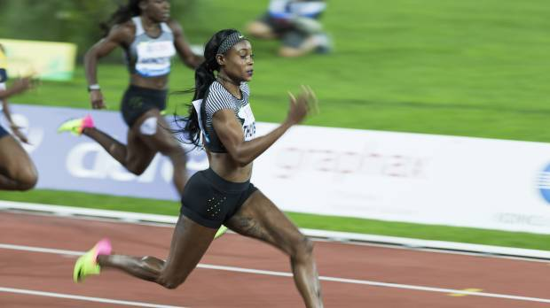 Olympic champ Thompson triumphs in Lausanne 100