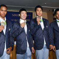 Silver-winning 4x100 relay team looks to future with confidence