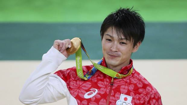 Uchimura successfully defends all-around title