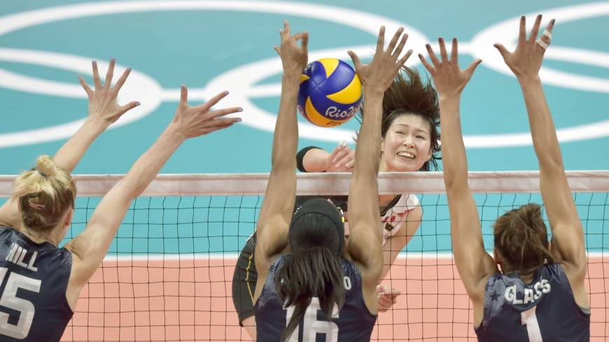 U.S. ends Japan's hopes of medal