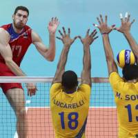 Italy, Brazil spikers make final