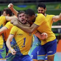 Raucous crowd helps fuel Brazilians in volleyball final