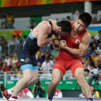 Inoue loses bronze-medal match in Greco-Roman wrestling