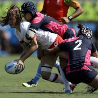 Japan routed twice as women's rugby makes Olympic debut