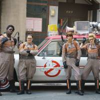 I know who to call: Leslie Jones, Melissa McCarthy, Kristen Wiig and Kate McKinnon star in an updated version of the iconic film 'Ghostbusters' (1984). | HOPPER STONE, SMPSP