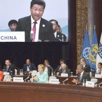 G-20 leaders join hands against protectionism