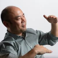 Taizo Son is interviewed in Tokyo on Aug. 30. | BLOOMBERG